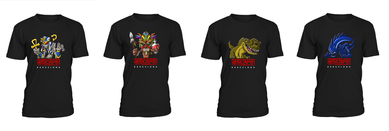 Camisetas Escape Room