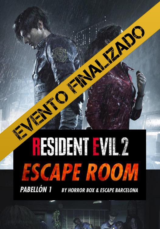 RESIDENT EVIL 2 ESCAPE ROOM