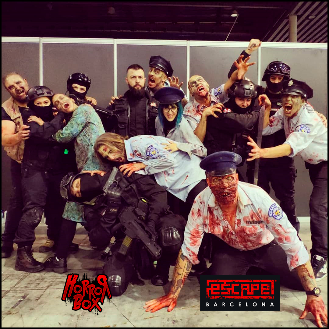 Zombis escape room