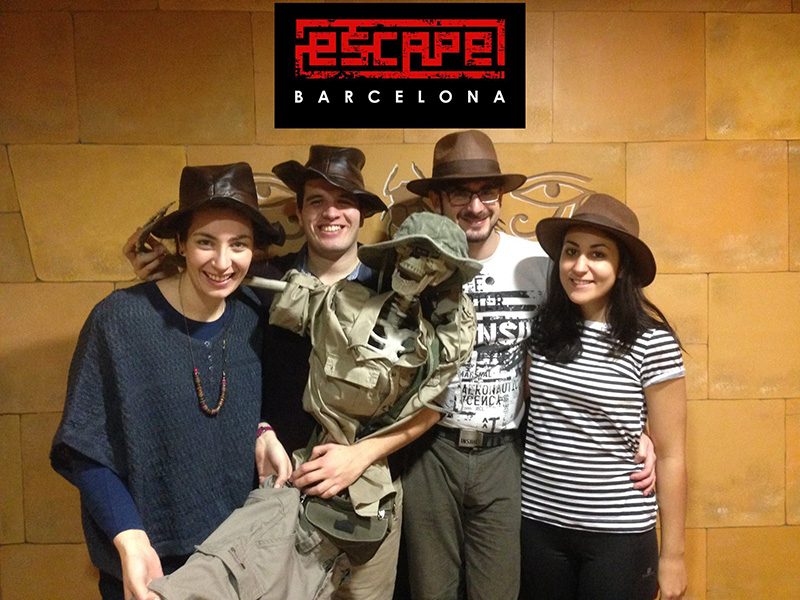 Escape Rpoom La Maldición del Faraón